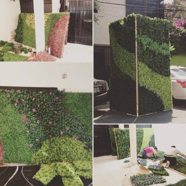 Cuadros verdes decorklass jardiner a y decoraci n - Decoracion de jardineria ...