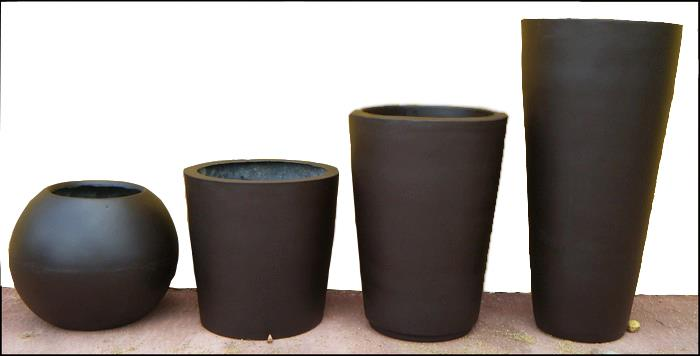 Macetas decorklass jardiner a y decoraci n - Macetas fibra de vidrio ...