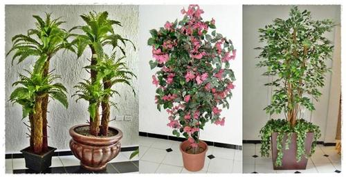 Arboles artificiales decorklass jardiner a y decoraci n - Plantas artificiales para interiores ...
