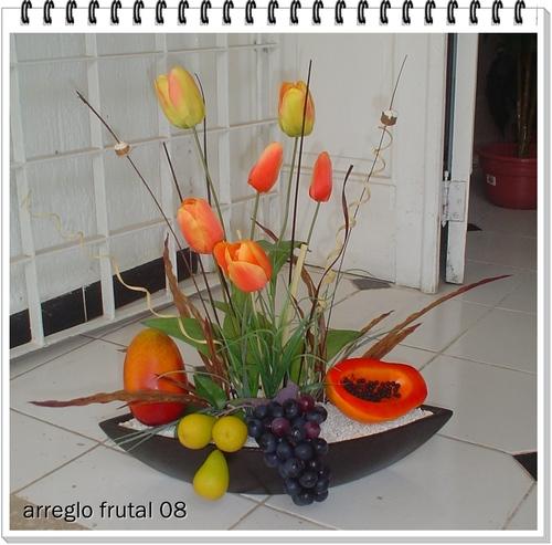 ed977a202508f -flores artificiales- -arreglos de mesa- flores y frutas artificiales ...