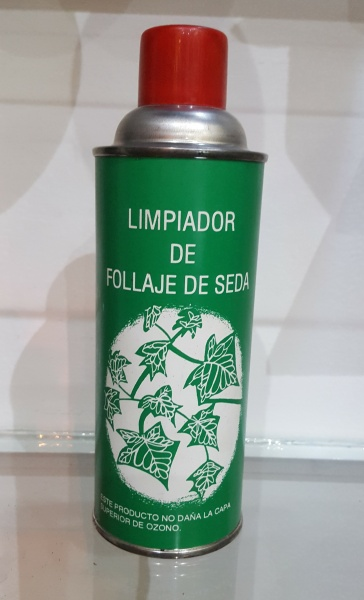 Spray Limpiador para plantas artificiales
