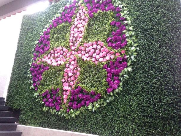 Cuadros verdes inova decora for Plantas muro verde