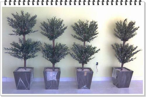 plantas y arboles artificiales