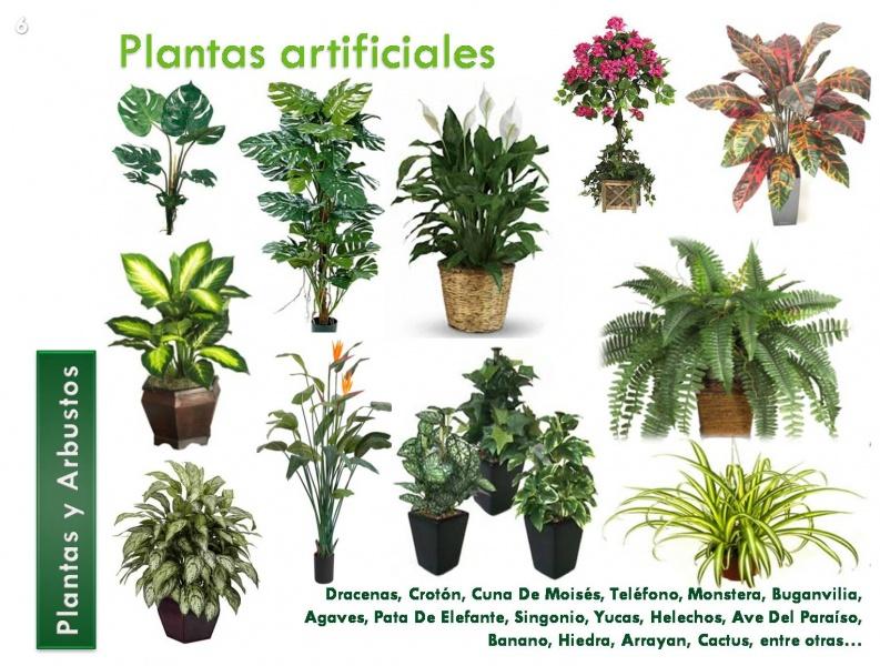 Plantas artificiales decorklass jardiner a y decoraci n - Plantas artificiales para decorar ...