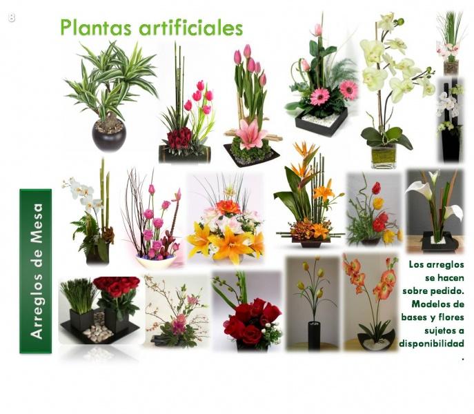 Centros de mesa decorklass jardiner a y decoraci n - Centros de plantas naturales ...