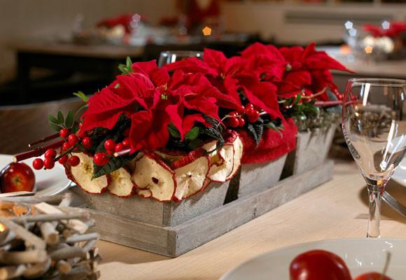 Navidad decorklass jardiner a y decoraci n - Centros de mesa navidad 2014 ...