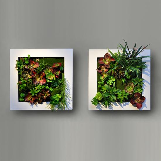 Cuadros verdes inova decora - Cuadro para pared ...