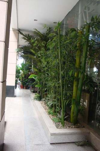 Bambus plantas artificiales decorklass for Plantas de interior artificiales
