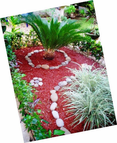 Decoraciones con plantas naturales y artificiales