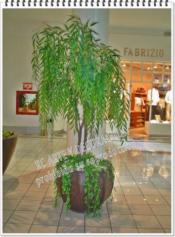Arbol sauce llor n decorklass jardiner a y decoraci n - Arboles decoracion interior ...